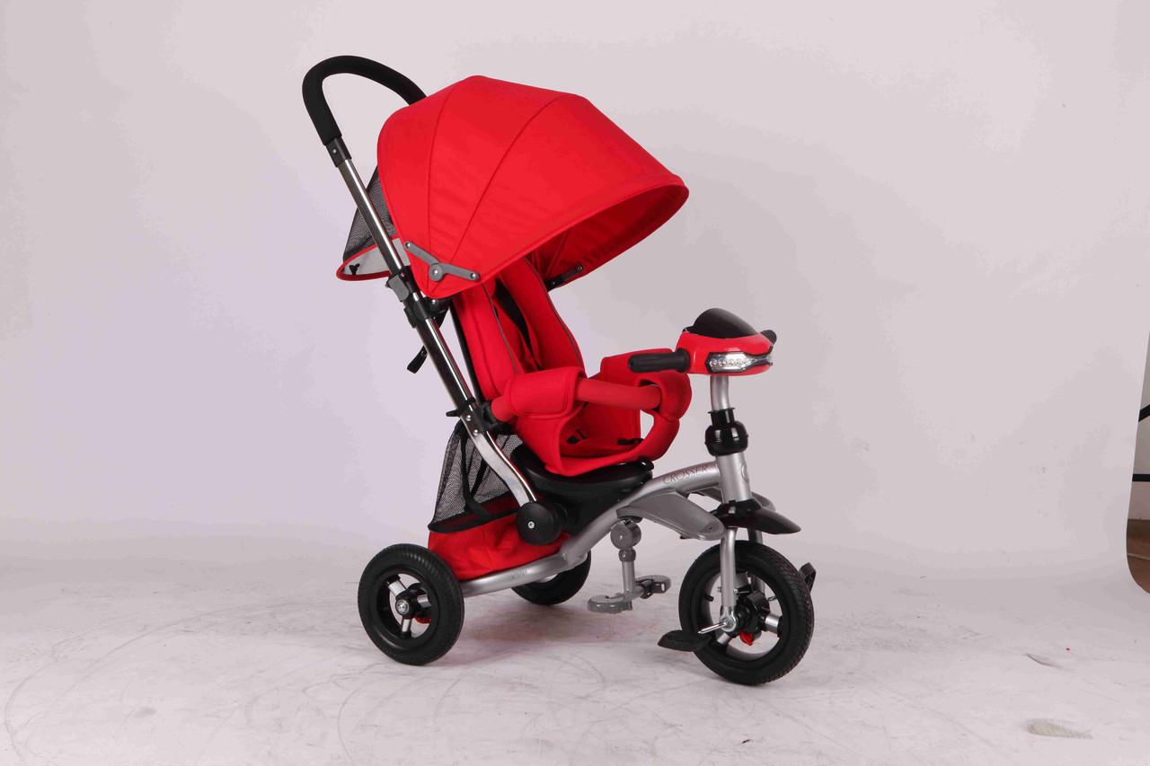 Детский трехколесный велосипед Azimut Crosser T-350 красный ***
