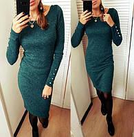 Платье   с ангры  софт , зеленое !, фото 1