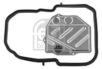 Фильтр масляный АКПП Mercedes-Benz (MB) W124, W202 84- с прокладкой (производство FEBI), ABHZX