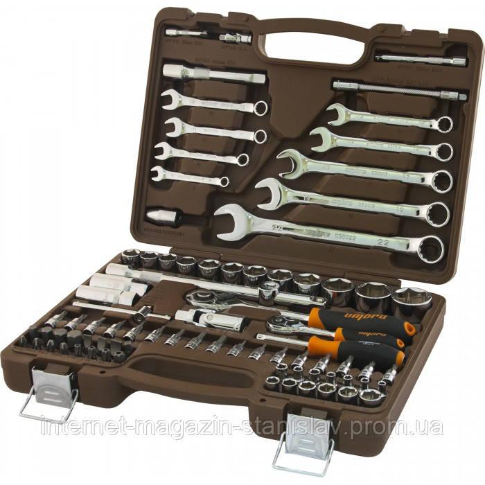 Универсальный набор инструментов OMBRA 82 предмета (6-гр.) OMT82S