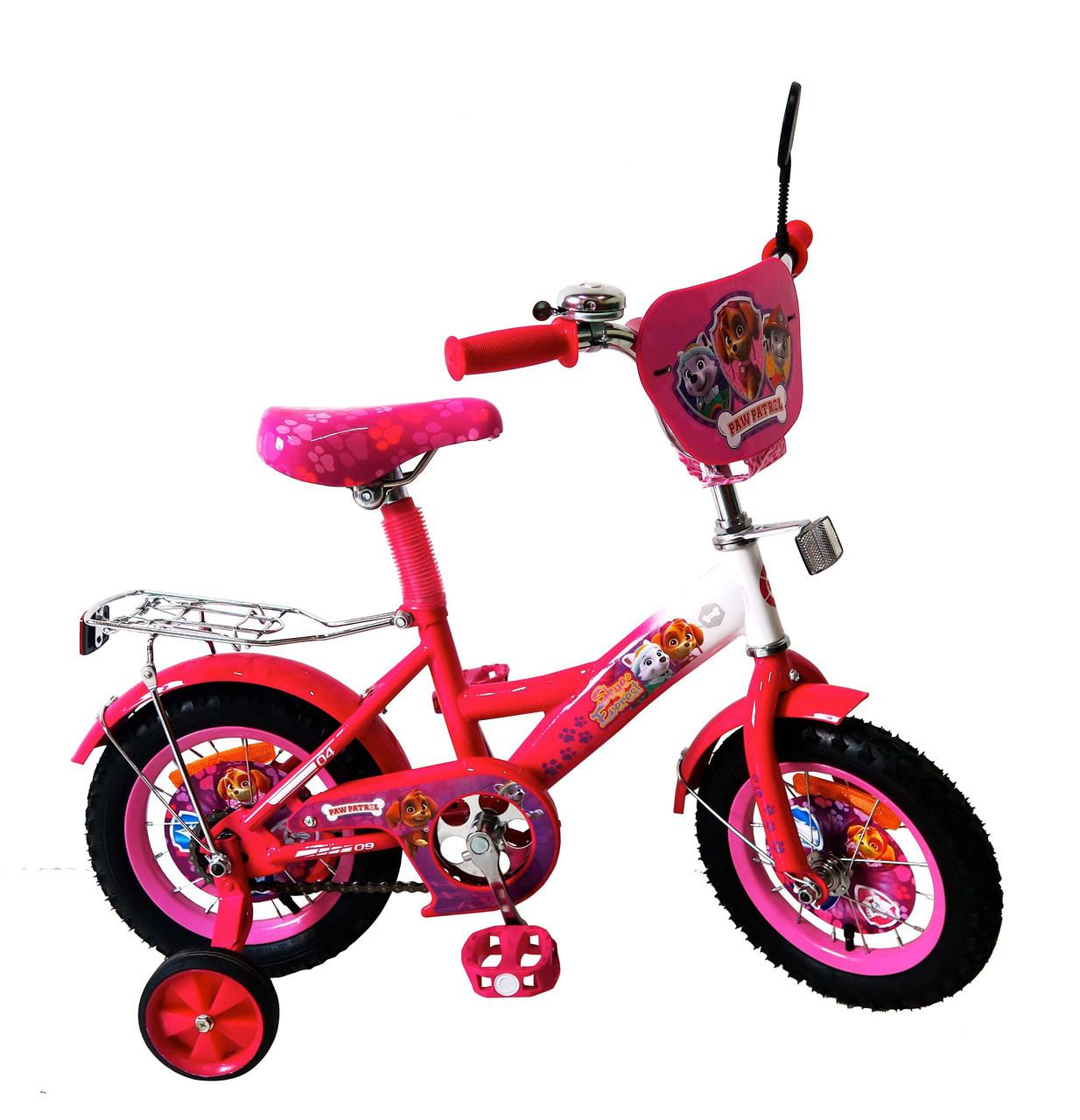 Велосипед детский двухколесный Щенячий патруль 18'' 171844   ***