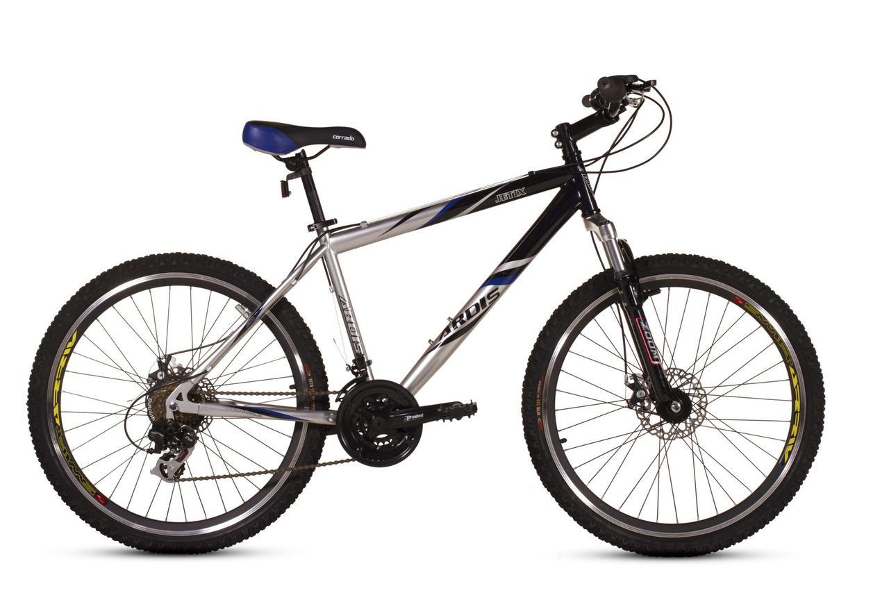 """Горный велосипед ARDIS JETIX 26"""" 19""""  Серый/Черный"""