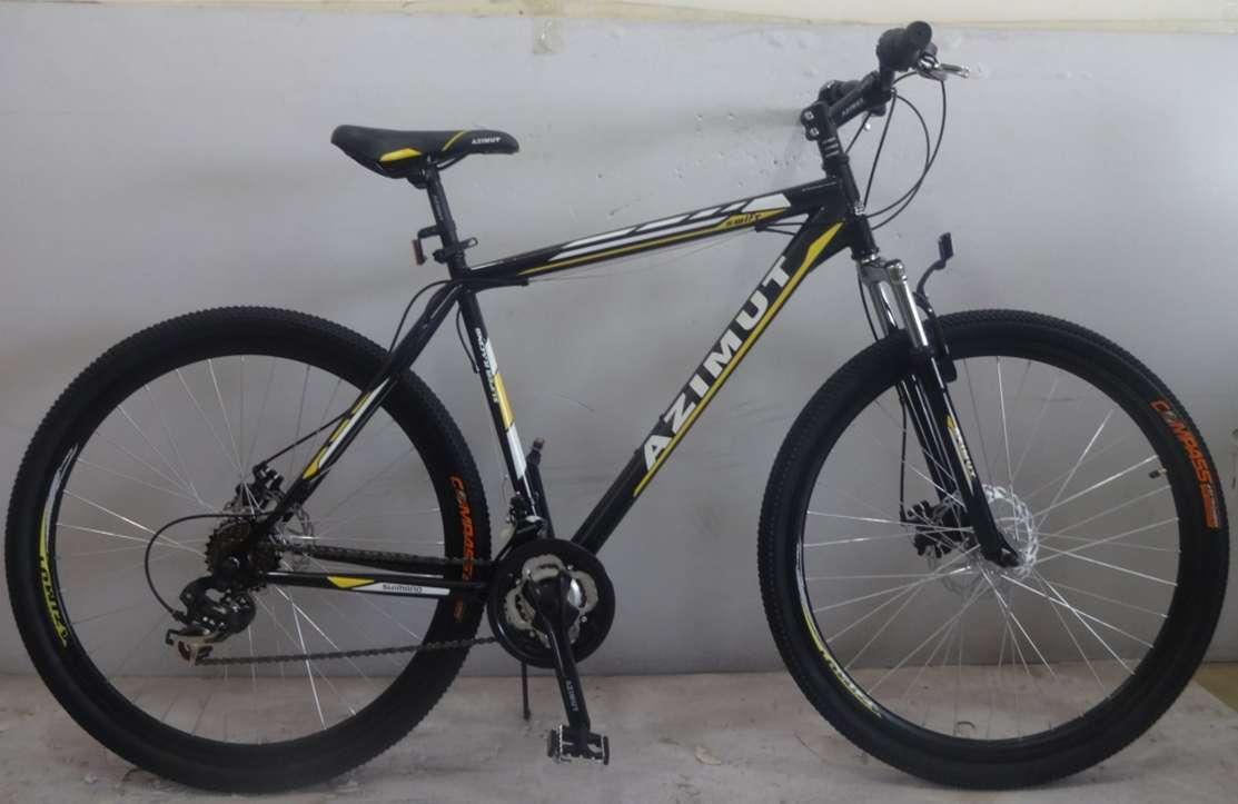 Горный спортивный велосипед 29 дюймов 21 рама Azimu Swift   (оборудова