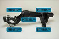 Кулак поворотный Ланос, Сенс 13 правый CRB (корпус амортизатора) Chevrolet Lanos (96219506)