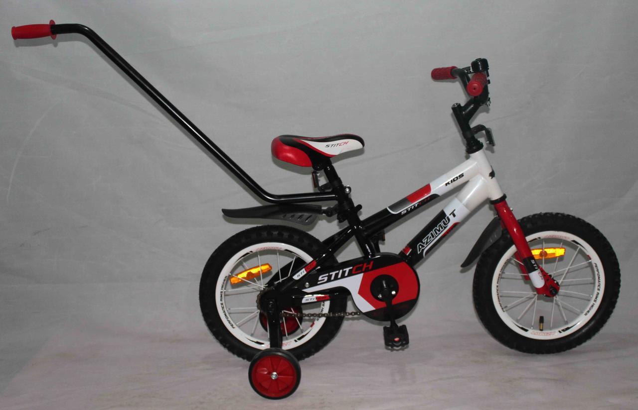 Детский двухколесный велосипед Azimut Stitch А 14