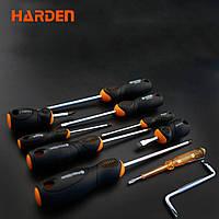 Профессиональный набор отверток, 10 предметов Harden Tools 550395