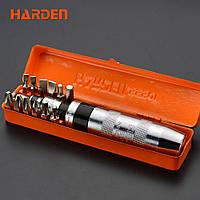 Ударная отвертка в наборе, 14 предметов Harden Tools 550641, фото 1