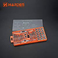 Проффесиональный резьбонарезной набор метчиков и плашек, 40 пр. Harden Tools 610459, фото 1