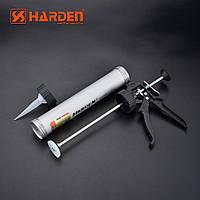 """Пистолет для герметика алюминиевый 15"""", 530 мм Harden Tools 620419"""
