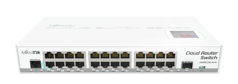 Коммутатор Mikrotik CRS125-24G-1S-IN