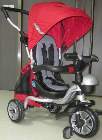 Детский Трехколесный велосипед AC-3 (аналог Puky Cat S6) с каучуковыми