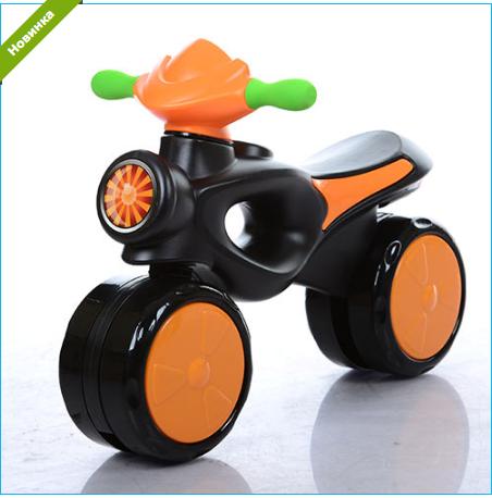 Каталка-толокар Bambi 8201-7 оранжевый ***