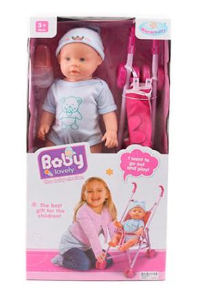 Пупс Baby Born с коляской WZJ009C-5