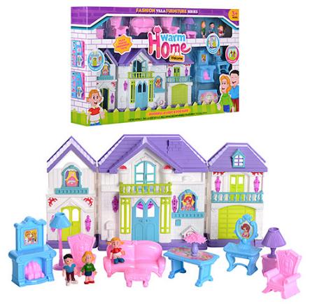 Кукольный дом Warm Home WD-918A/B