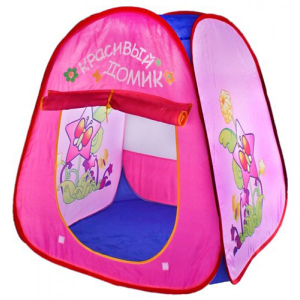 Детская палатка 889-79B Красивый домик