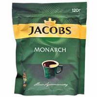 Кофе растворимый Якобс Монарх 120г эконом пакет Jacobs Monarch Высшее качество