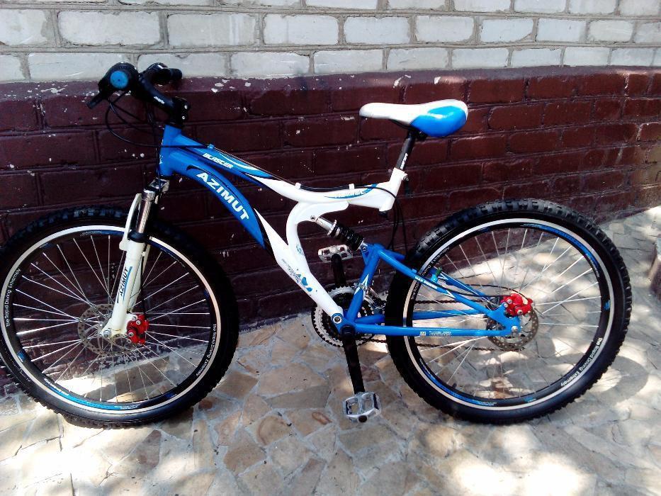 Спортивный велосипед 26 дюймов Azimut Blaster  127-G-FR/D-1(оборудован