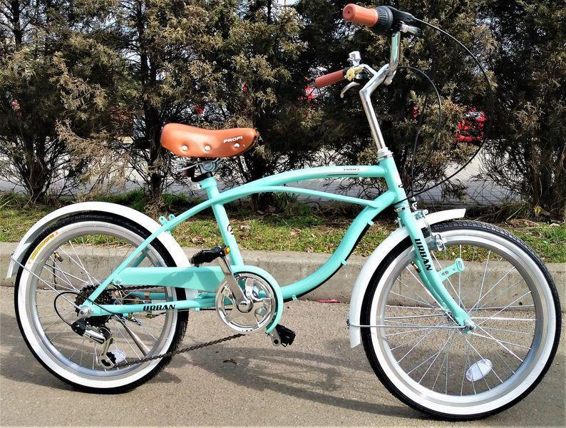 Стильный спортивный велосипед круизер  20 дюймов PROFI G20 URBAN S20.1