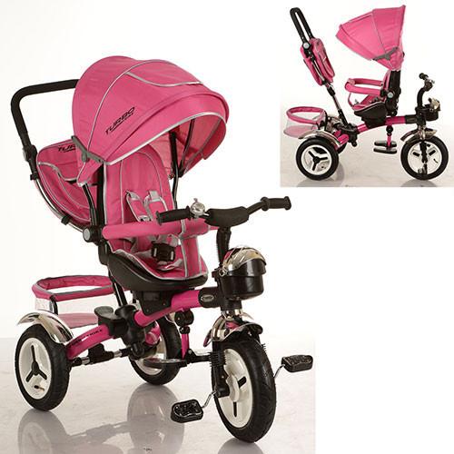 Трехколесный велосипед M 3200-6A (аналог Puky Cat S6), розовый***