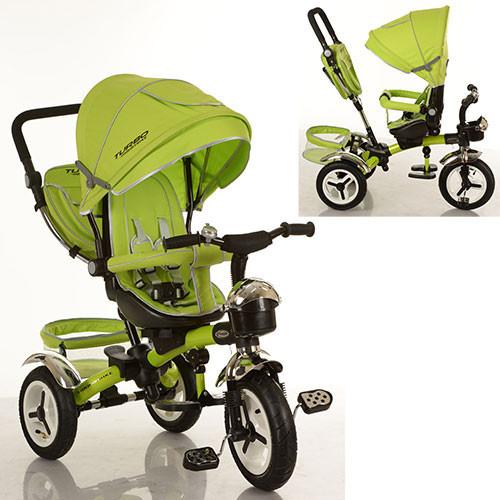 Трехколесный велосипед M 3200-4A PU (аналог Puky Cat S6), зеленый***