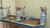 Разъединитель РЛНД-10 IV/630 с полимерными изоляторами