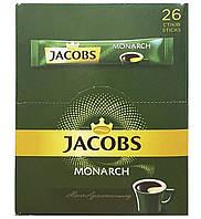 Кофе Якобс стик (2г * 26шт) 20 упаковок Монарх Jacobs Monarch Высшее качество
