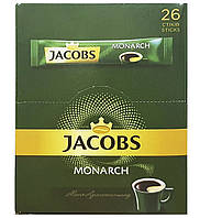 Кофе Якобс стик (1,8г * 26шт) 20 упаковок Монарх Jacobs Monarch Высшее качество аналог