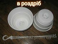Горшки подвесные 23 диаметра 4.3 литра с подвесом