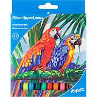 Фломастеры Kite 12 цветов K17-047