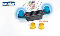 Игрушка - аксессуар: звуковой и световой спецсигнал (для грузовиков)