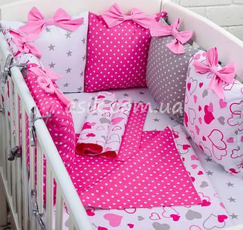 Комплекты постельного белья с бортиками-подушками