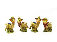 Козочка с короной (4 шт/уп)(9х5х3,5 см)