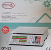 Торговые весы электронные Domotec + DT 52 (6 v) 50 kg