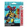 Фломастеры Kite Transformers 12 цветов TF17-047