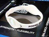 Оригинальный энергетический браслет Power Balance белый