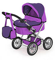 Коляска для куклы  Bayer Design Trendy Dolls Pram Lilac 13012