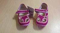 Розовые детские тапочки Vitaliya для девочек
