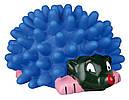 Игрушка для собак Ежик винил колючий 10 см Trixie, фото 3