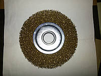 Щетка на болгарку 125мм латунная проволока