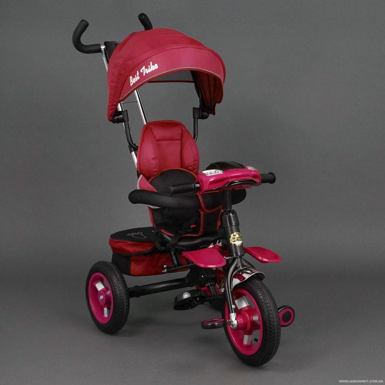 Велосипед трехколесный с поворотным сиденьем Best Trike 6699,красный *