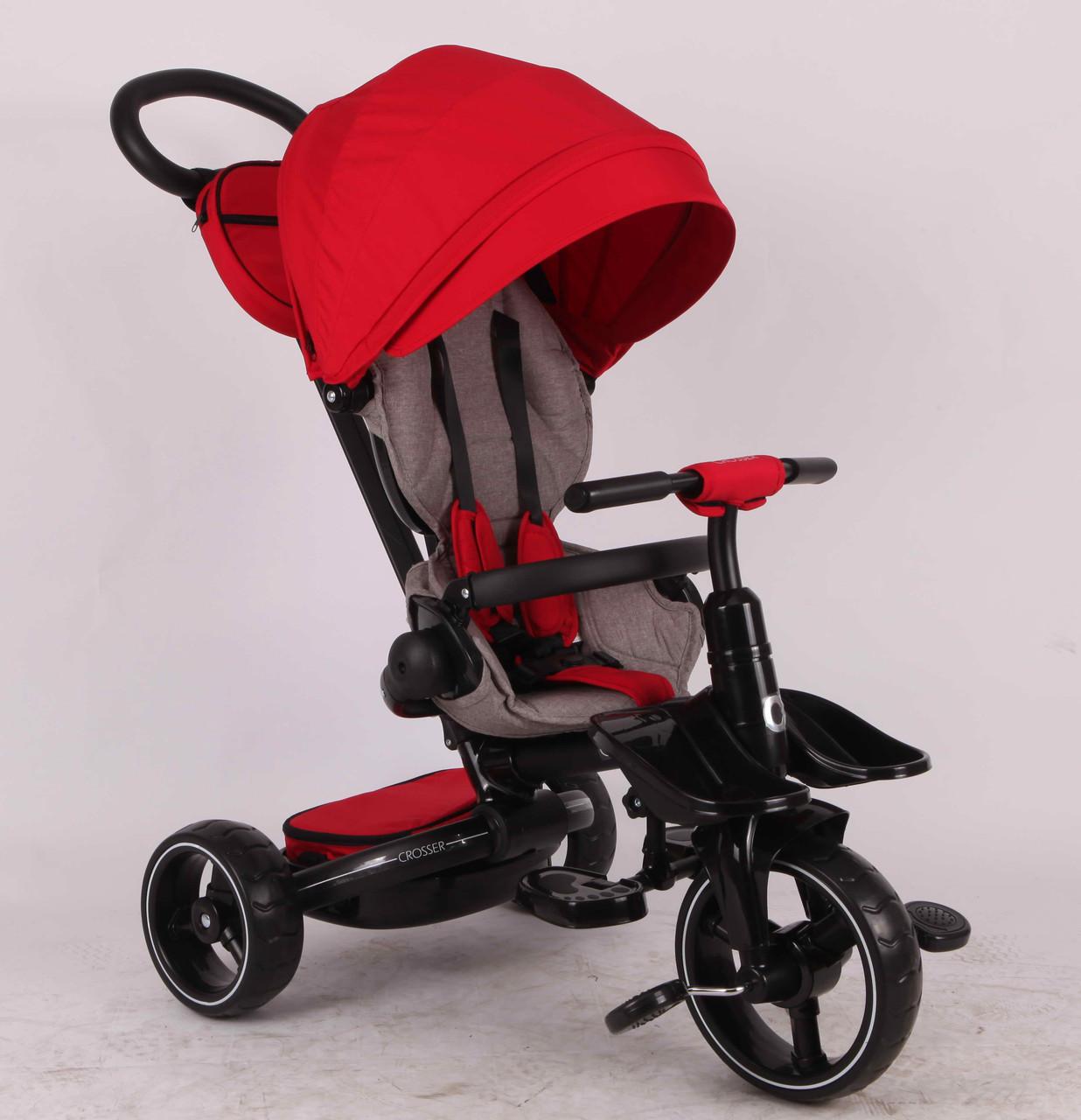 Велосипед-коляска Stokke Modi Crosser T 600 (6 в 1), красный ***