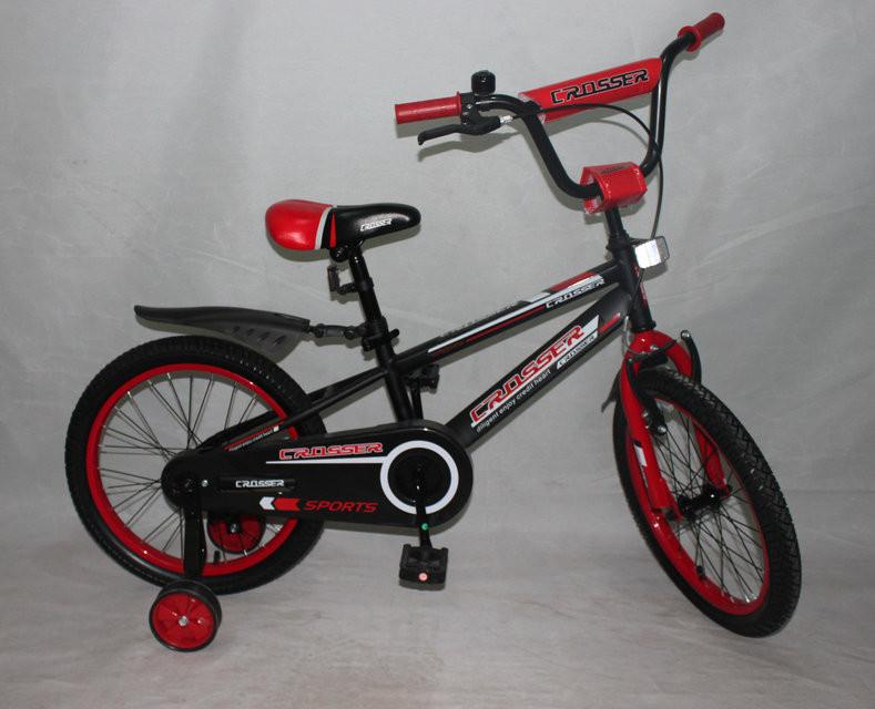Велосипед двухколёсный 20 дюймов Azimut SPORTS CROSSER -1 красный***