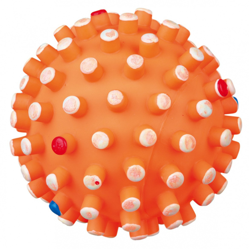 Игрушка для собак Мяч винил с шипами 12 см Trixie