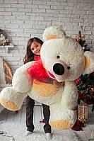 Плюшевая игрушка медведь Толстунчик белый