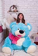 Плюшевая игрушка медведь Толстунчик голубенький