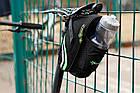 Велосумка подседельная RockBros с креплением для бутылки, фото 9