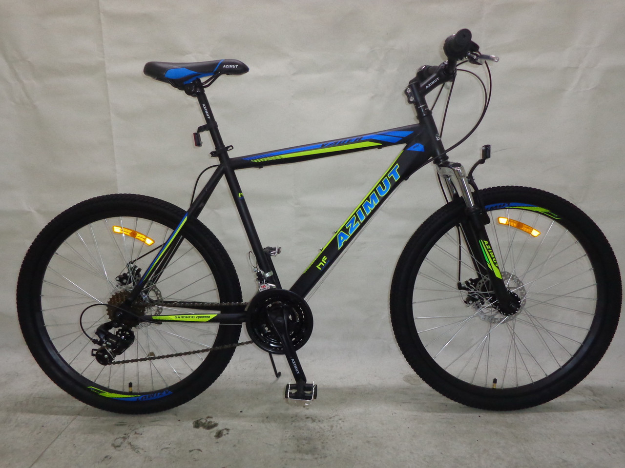 Горный спортивный велосипед 29 дюймов 19 рама Azimu Vader   (оборудова