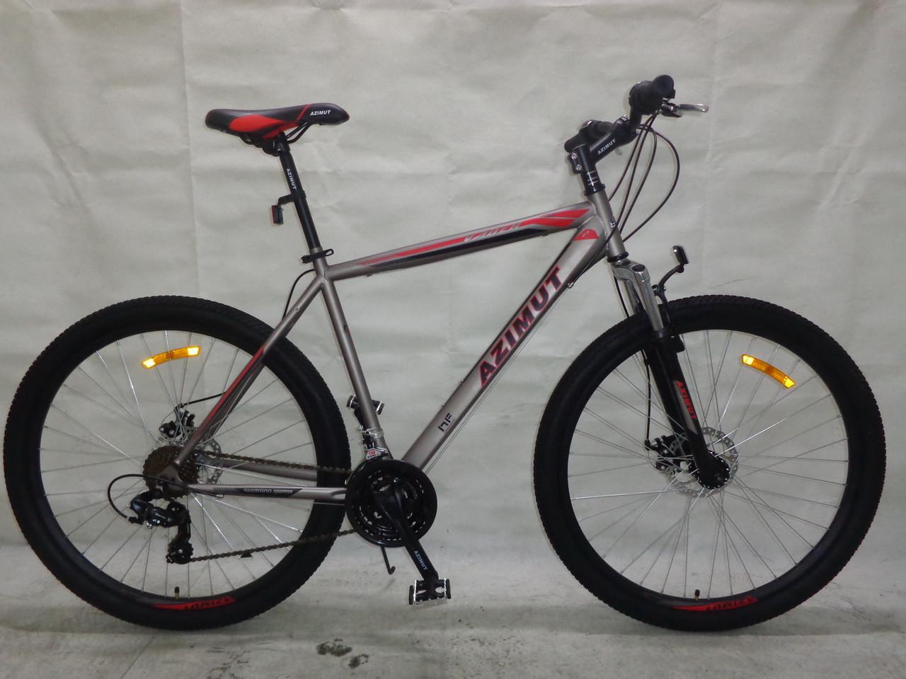 Горный спортивный велосипед 29 дюймов 21 рама Azimu Vader   (оборудова