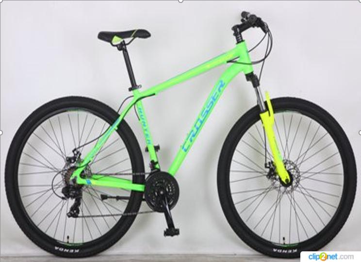 Горный велосипед 26 дюйма (19 и 21 рама) Azimut  CROSSER  HUNTER (2017