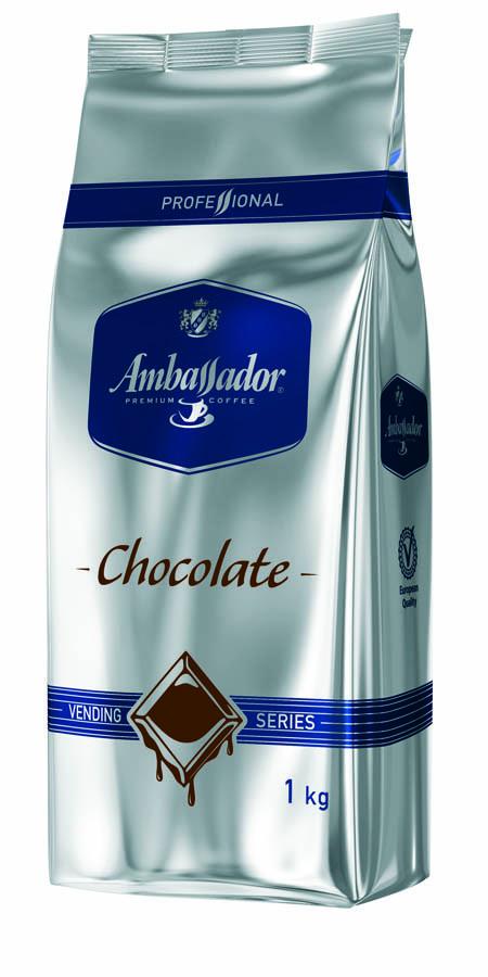 Растворимый какао-порошок Ambassador Chocolate (Амбасадор Шоколат) - 1 кг.